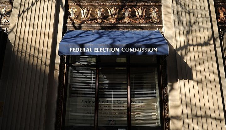 The Federal Election Commission headquarters in Washington, DC