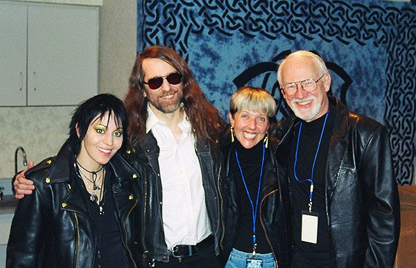<em>Greg Hildebrandt, Jean Scrocco , Joan Jett and Paul O' Neill - Spiderweb Gallery</em>