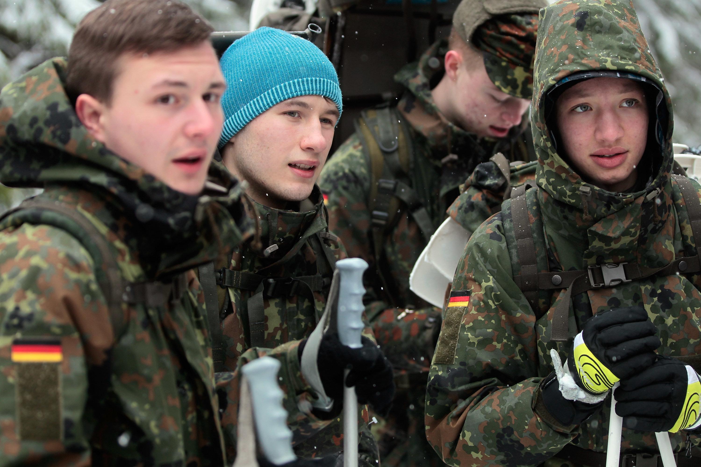 Bundeswehr rekrutiert so viele Minderjährige wie nie