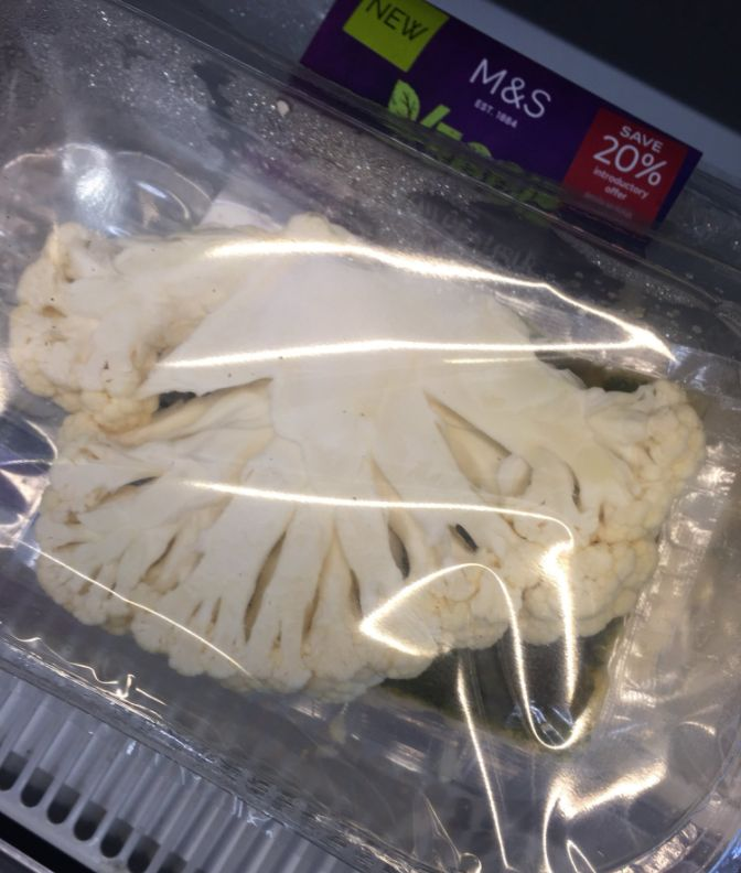 M&S Pulls 'Cauliflower Steak': Other Supermarkets Also Sell Over-Packaged