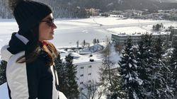 Julia unterwegs - Wintersport in St.