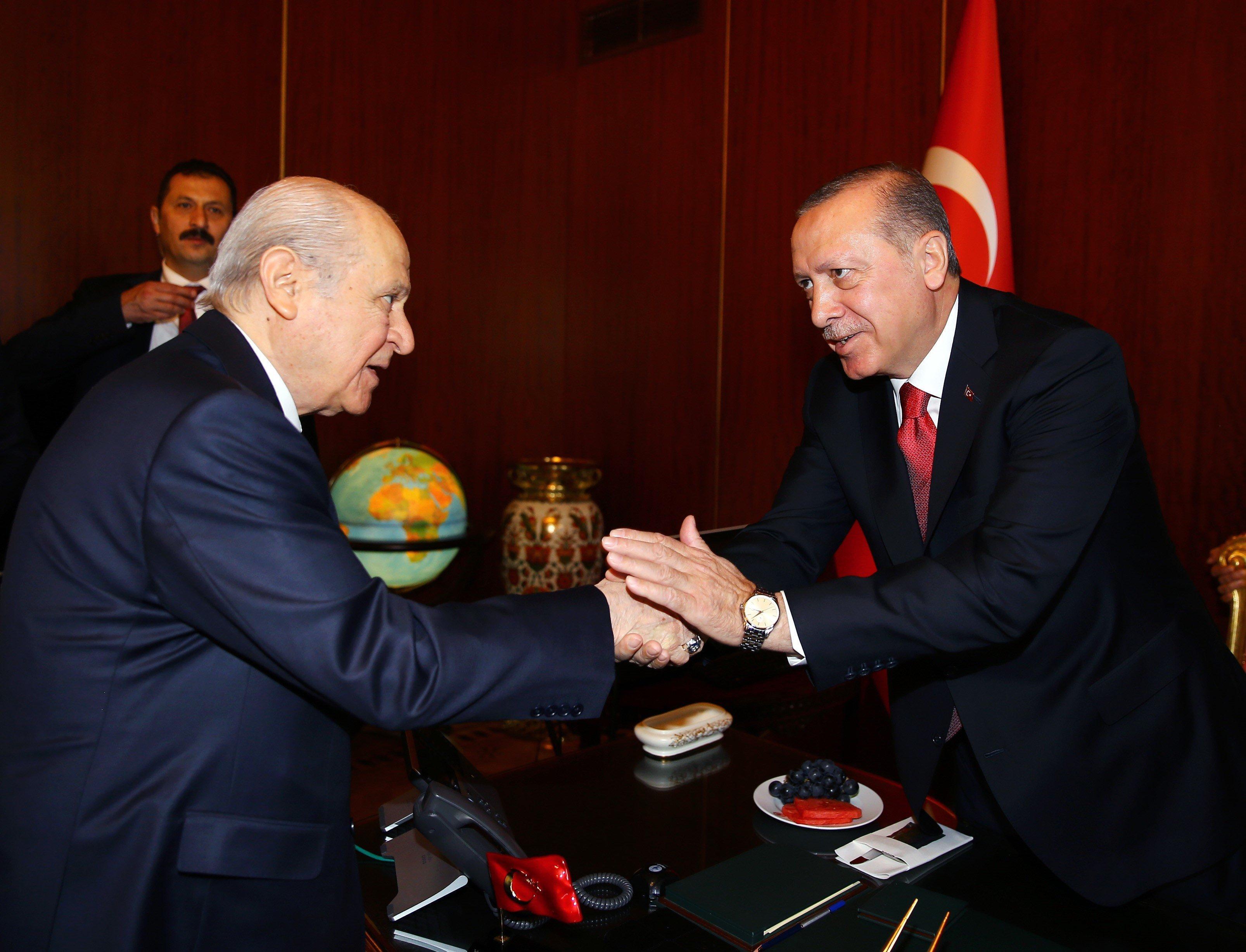 Erdogan gibt Bündnis mit rechtem Politiker bekannt