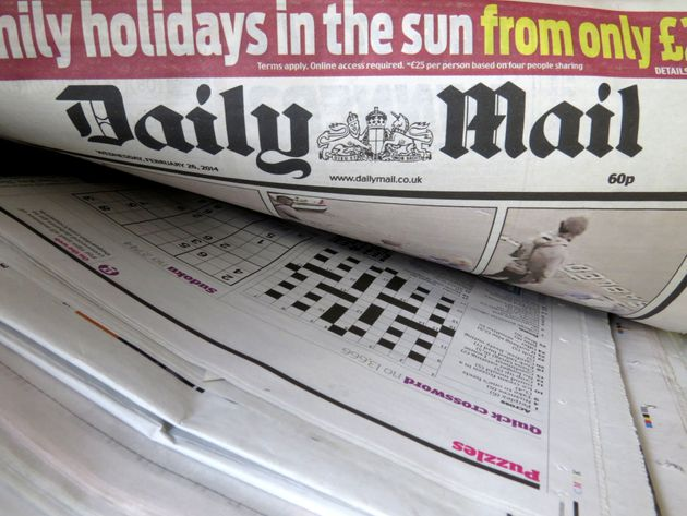 The Daily Mail was available in Virgin Trains on-board shops and was offered in first-class