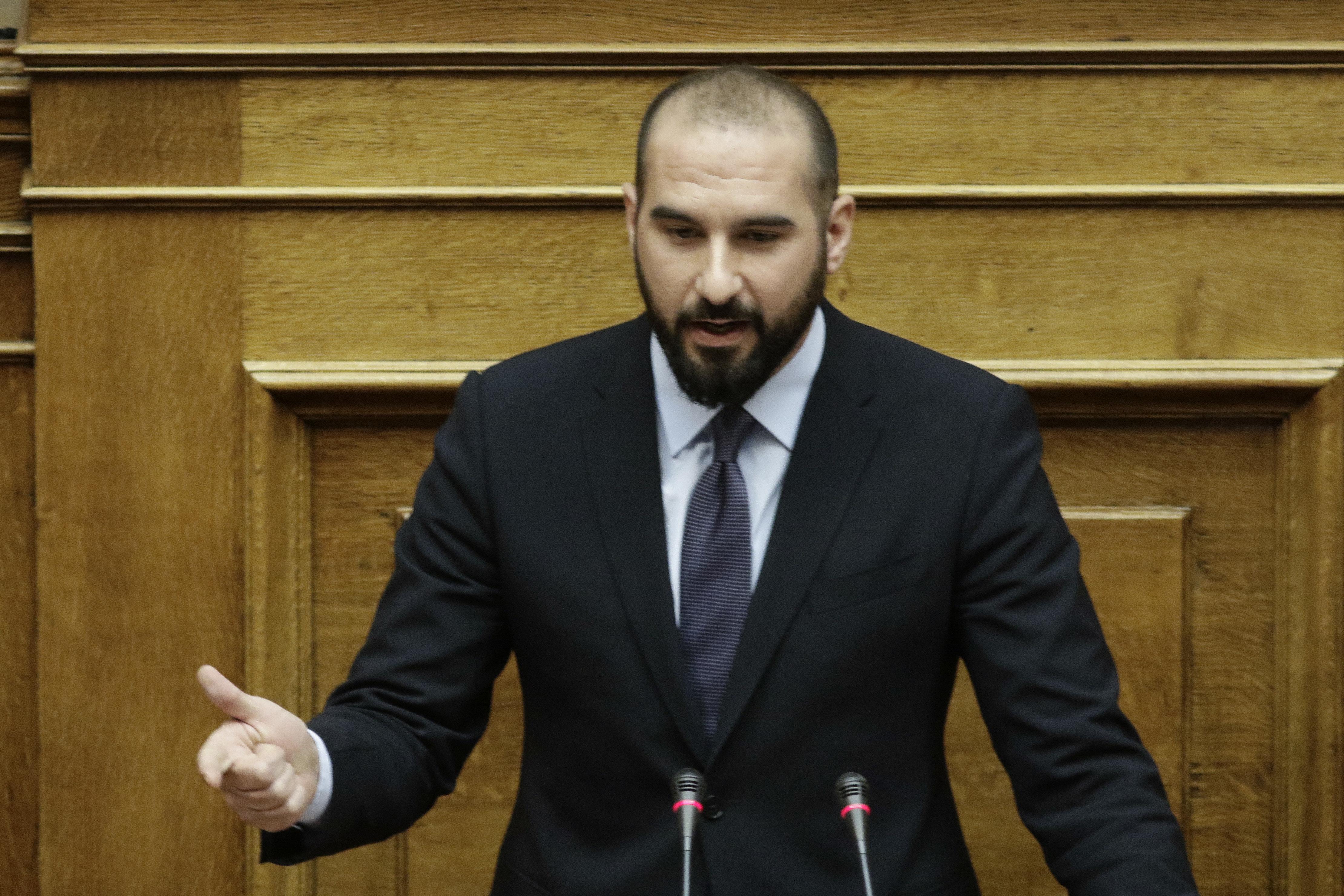 Τζανακόπουλος: Η θέση της κυβέρνησης για την ΠΓΔΜ είναι συνέχεια της θέσης της κυβέρνησης