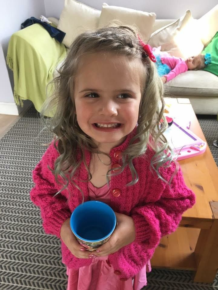 Four-year-old Olive wanted to raise money for her local animal