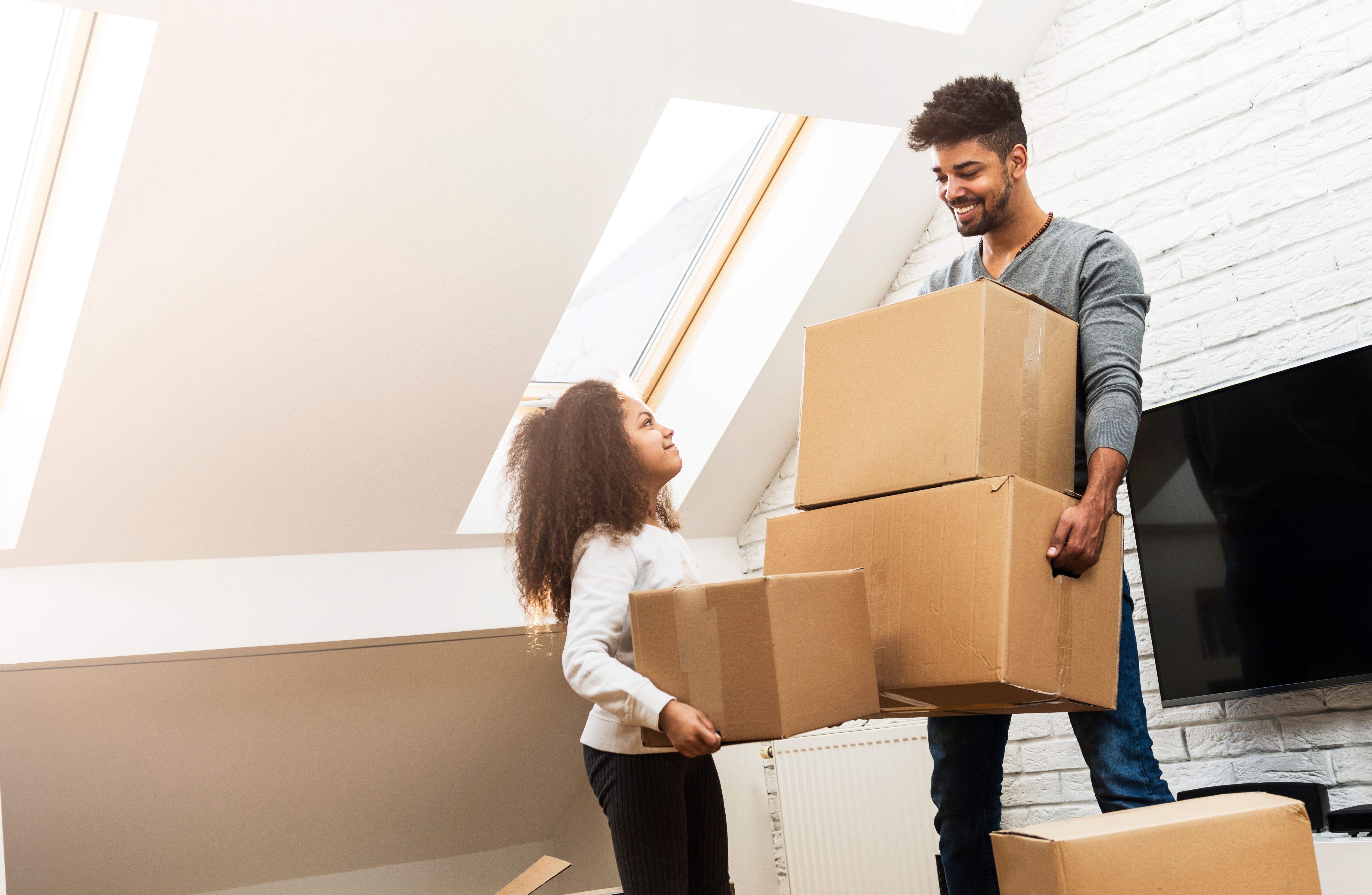Moving House: 8 Ways To Help Children Cope With The