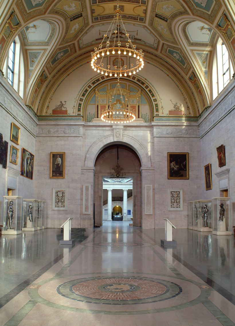 The Great Hall of the Detroit Institute of Arts. Image: Detroit Institute of Arts