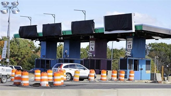 All-electronic tolling goes into place on the Massachusetts Turnpike. States are turning to tolls to compensate for less reve