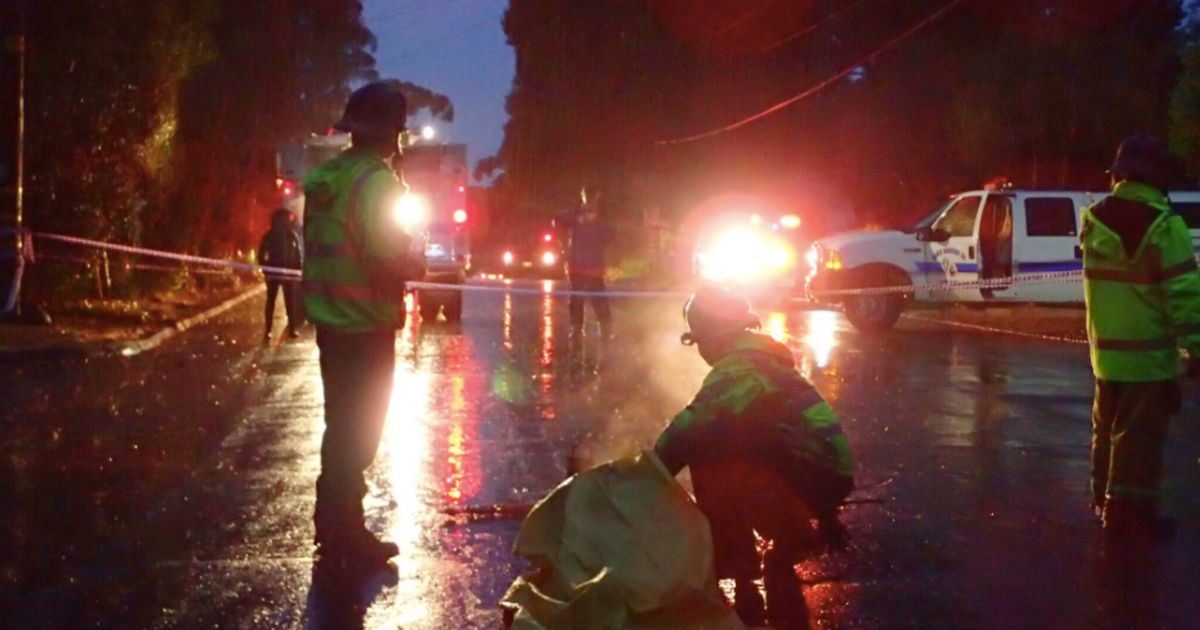 6 Dead As Mud Slams Into Homes And Clogs Roads In Fire-Scorched California