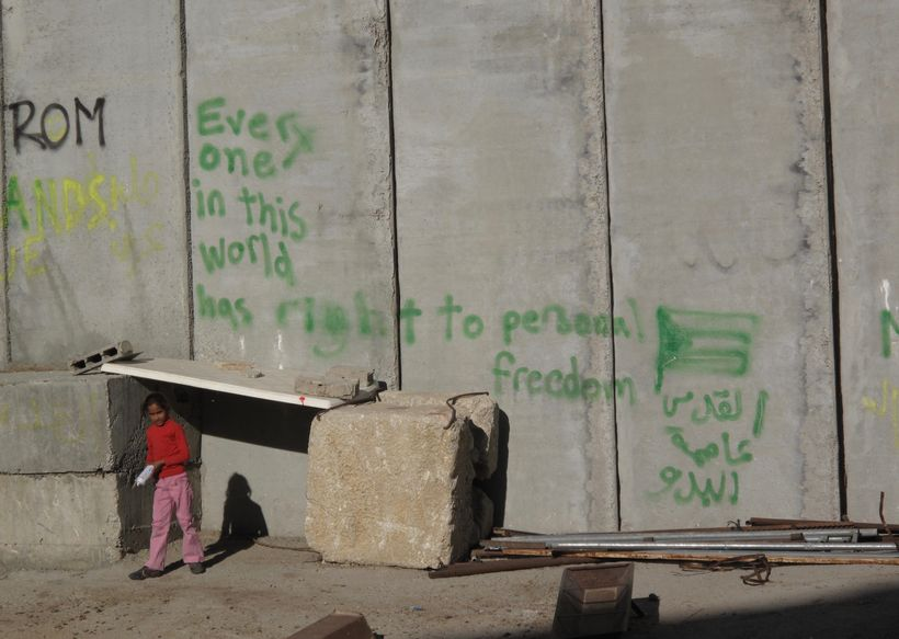 The Wall in the West Bank and East Jerusalem