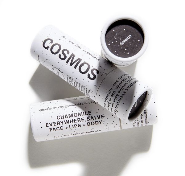 """<a href=""""https://www.cosmosbotanicals.com/"""" target=""""_blank"""">Cosmos</a> products are created with 100 percent plant-based ingr"""