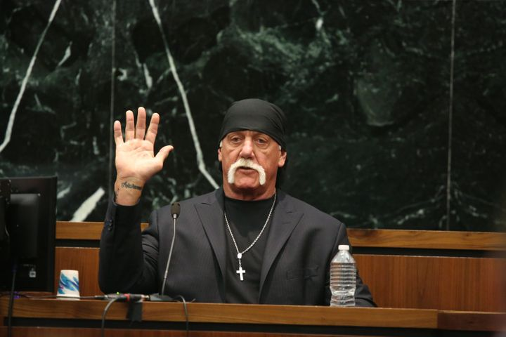 Hulk Hogan, whose legal name is Terry Bollea, sued Gawker Media after Gawker.com published a sex tape clip.