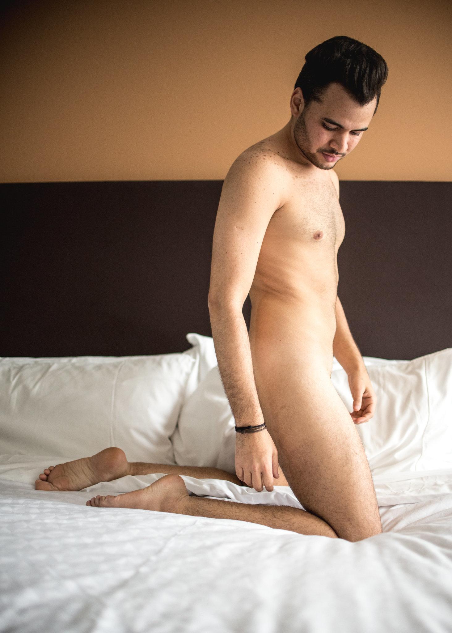 Nude colombian men