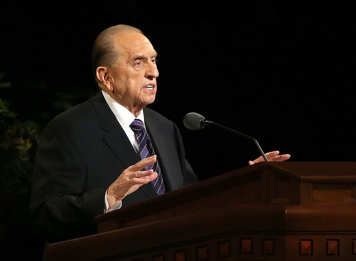Thomas Monson, the late president of the Mormon church, died at the age of 90 on Jan. 2.