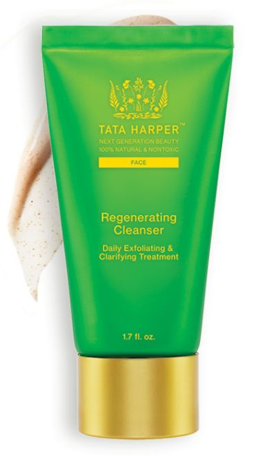 """<a href=""""https://www.tataharperskincare.com/"""" target=""""_blank"""">Tata Harper</a>'s products are handmade in Vermont but contain"""