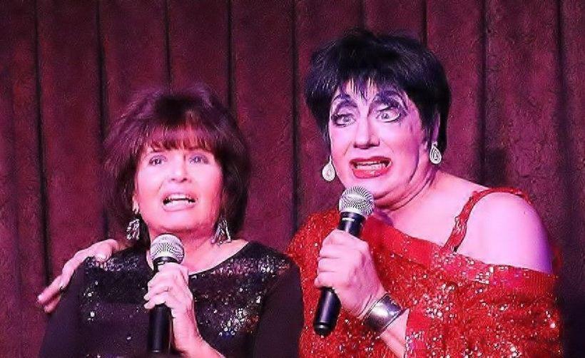 Karen Wyman and Rick Skye as Liza