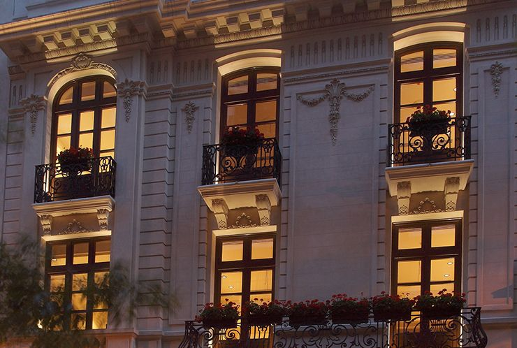 Boutique exceptionalism. Algodon Mansion, Buenos Aires.