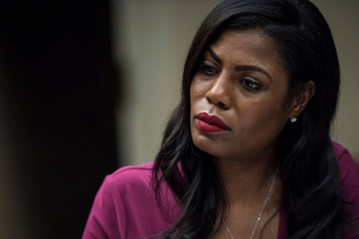 Omarosa Manigault Newman, seen here in June 2017, says she felt isolated as a woman of color in the Trump White House.