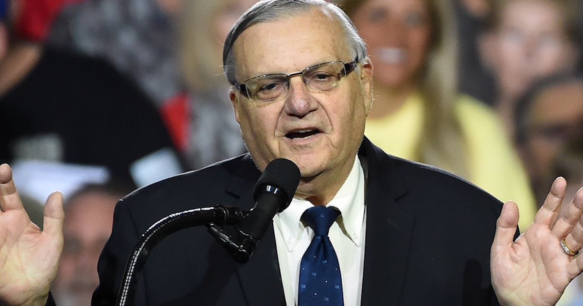 Just Months After His Controversial Pardon, Joe Arpaio Wants To Run For Senate