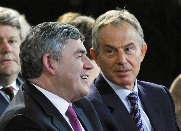 Gordon Brown and Tony