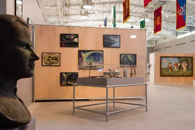 "Installation shot of ""Cold War Spaces"" at The Wende Museum. Photo by Michael Underwood. Image courtesy of the museum."