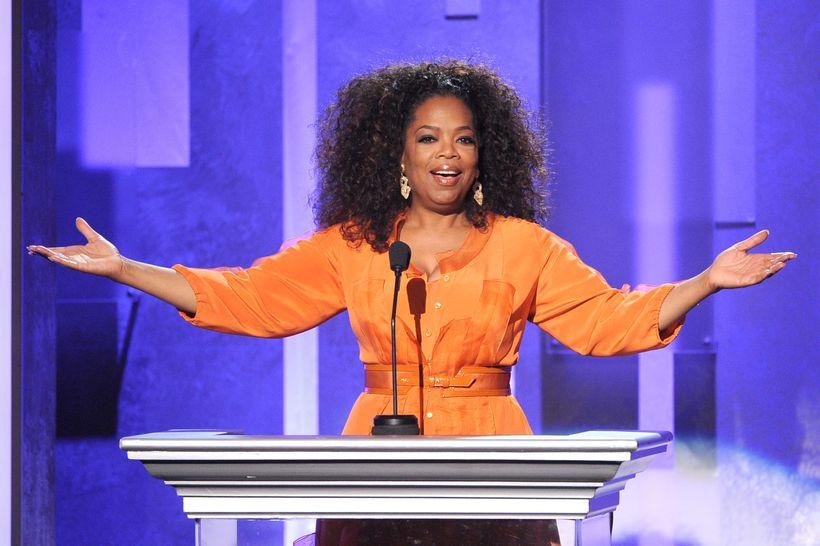 Oprah Winfrey at the NAACP Awards