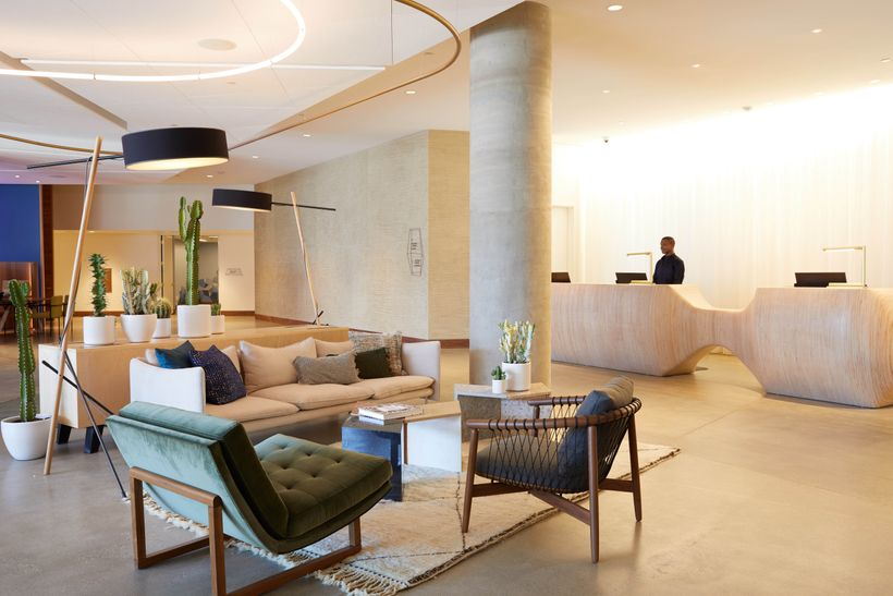 The Jeremy Hotel - Lobby