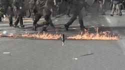 Επιθέσεις με μολότοφ κατά αστυνομικών στα