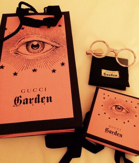 The Gucci Garden giveaway...