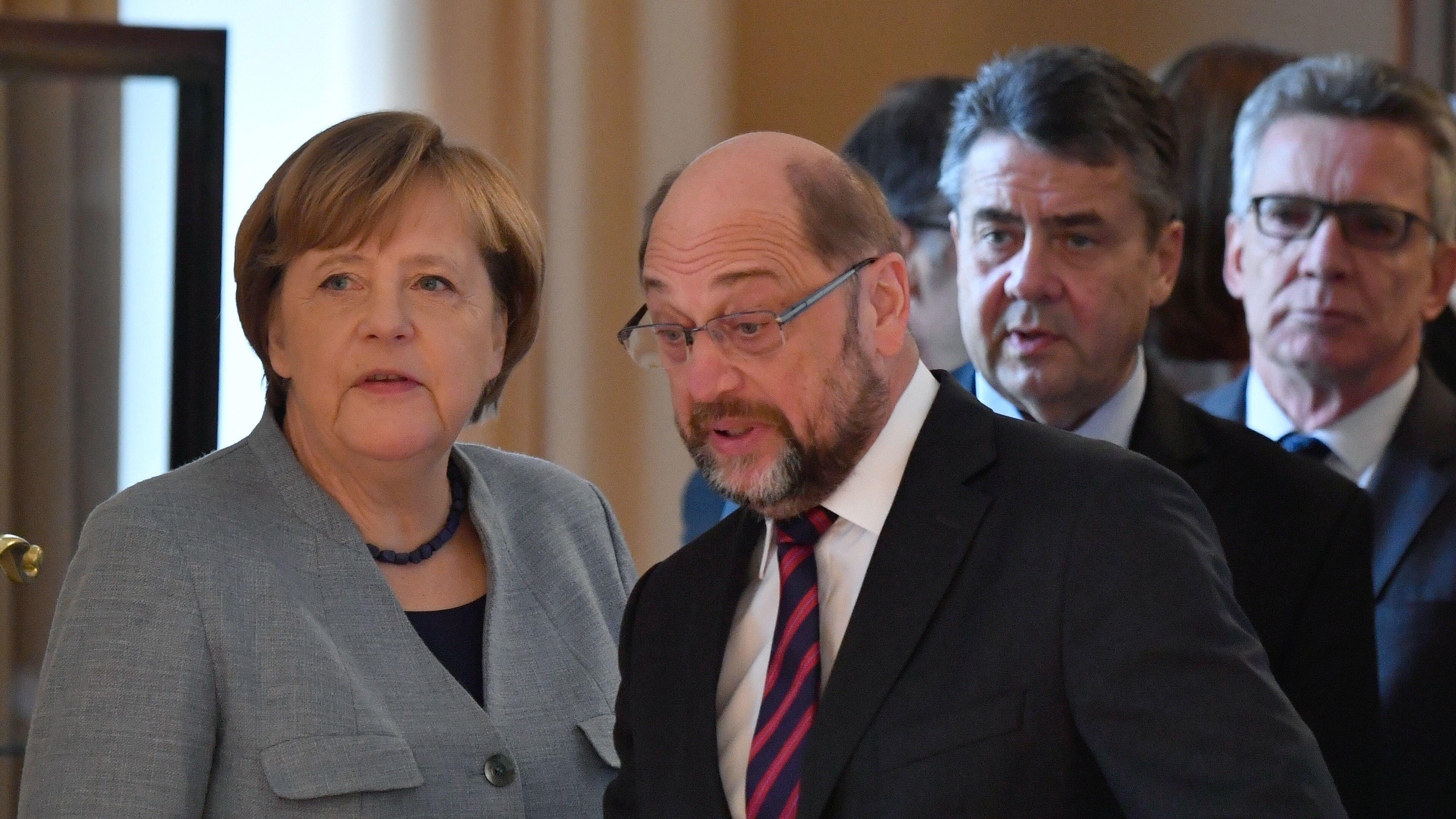 GroKo-Sondierungen: SPD empört über