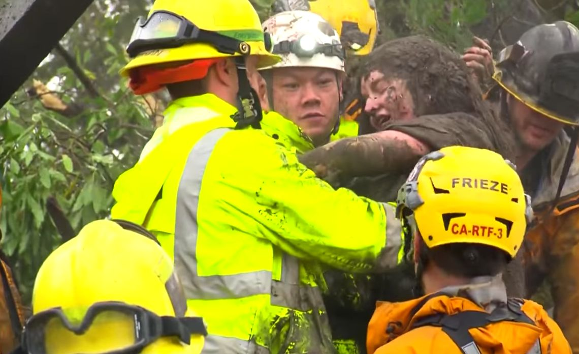 Among The California Mudslide Carnage That Has Killed 13, This Teenage Was Pulled Out