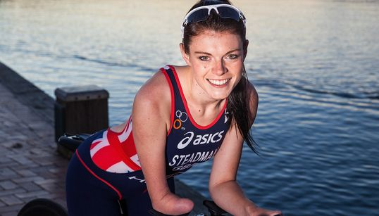 Paralympian Lauren Steadman: Don't Give Up On Your New Year's