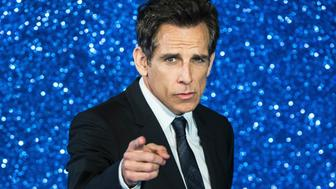 US actor Ben Stiller poses arriving to attend a screening of the film Zoolander 2 in London on February 4, 2016.  / AFP / CHRIS RATCLIFFE        (Photo credit should read CHRIS RATCLIFFE/AFP/Getty Images)