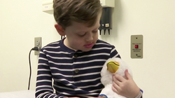 Robot Duck Helps Kids Cope With