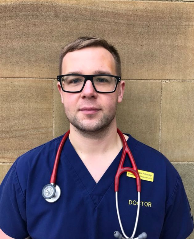 Dr Adrian Harropis an A&E doctor in North