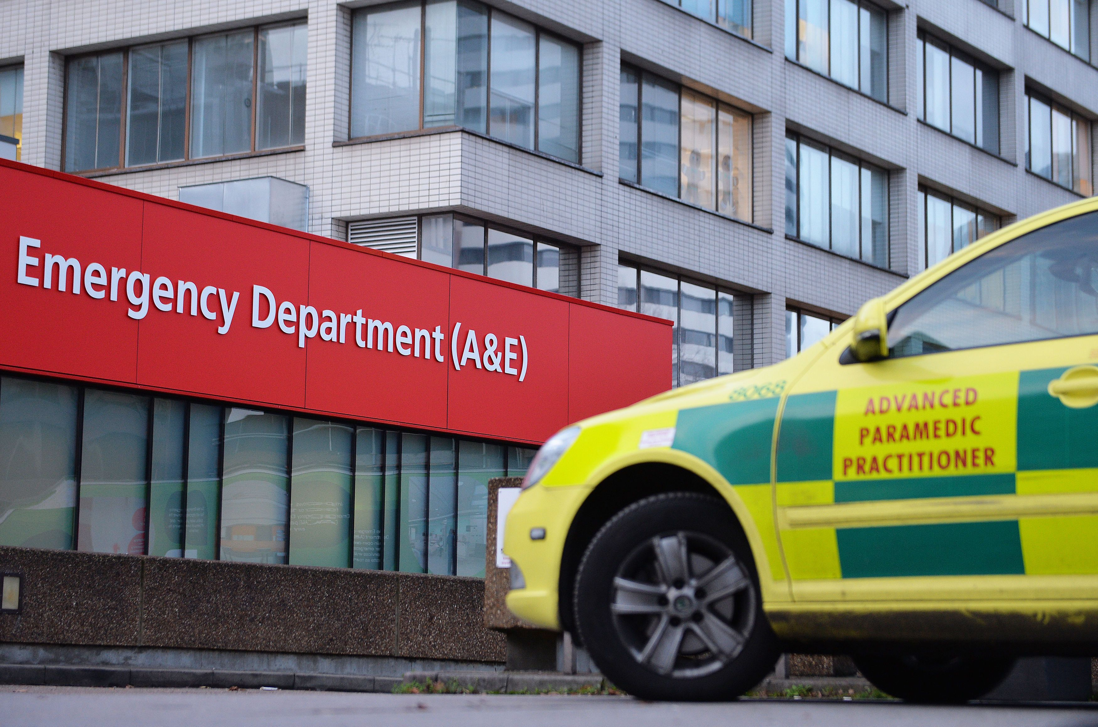 Sarah says 'A&E is becoming a refuge, rather than somewhere that treats acute