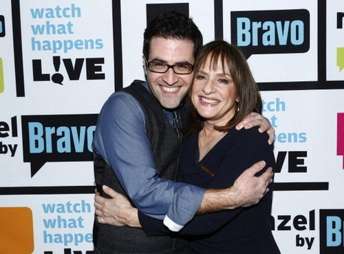 Ben Rimalower with Patti Lupone
