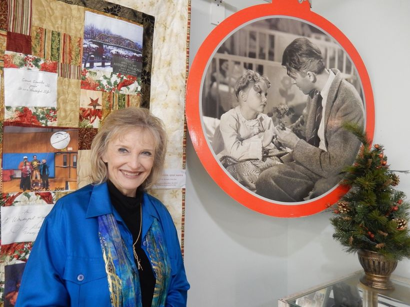 """Zuzu"" at <em>It's A Wonderful Life</em> Museum, Seneca Falls NY"