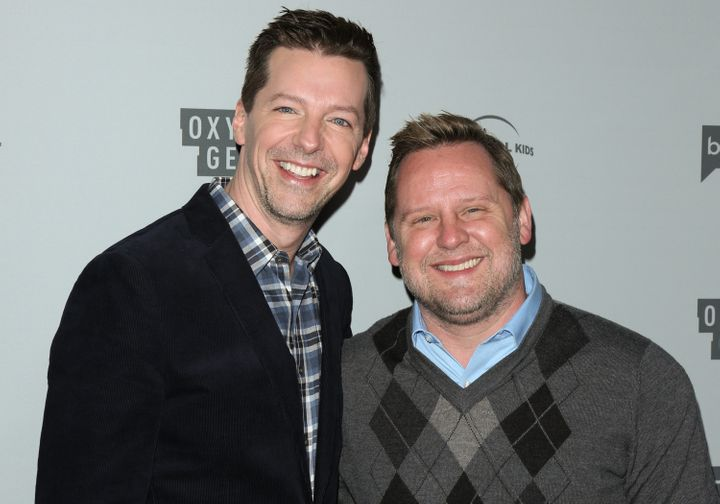 Hayes and his husband, composer Scott Icenogle, whom he married in 2014.