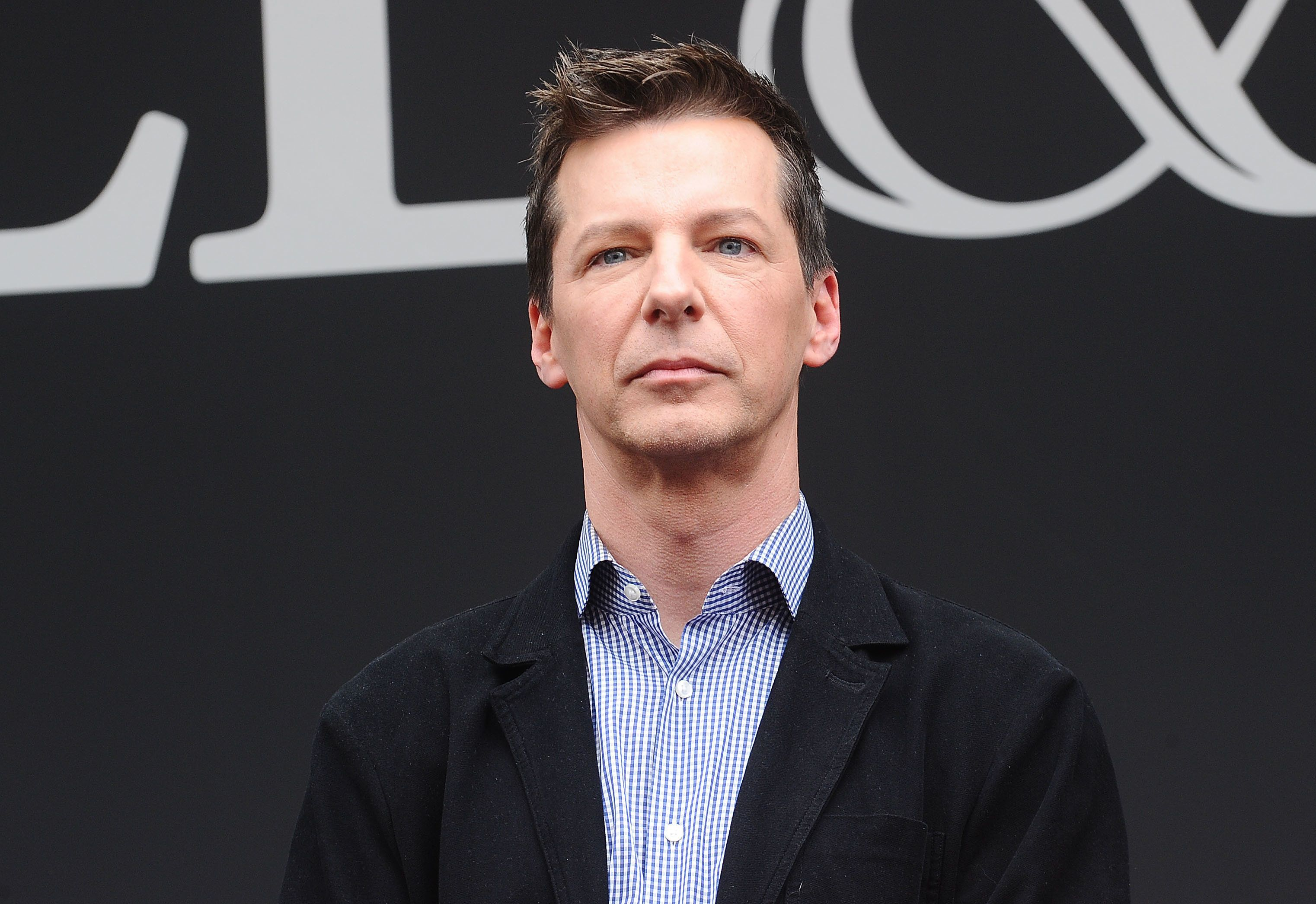 UNIVERSAL CITY, CA - AUGUST 02:  Actor Sean Hayes attends the 'Will & Grace' start of production kick off event and ribbon cutting ceremony at Universal City Plaza on August 2, 2017 in Universal City, California.  (Photo by Jason LaVeris/FilmMagic)