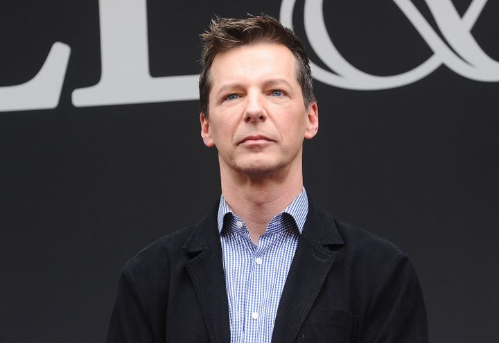 Actor Sean Hayes said his mom is now extremely supportive despite her initial response to hearing he is gay.