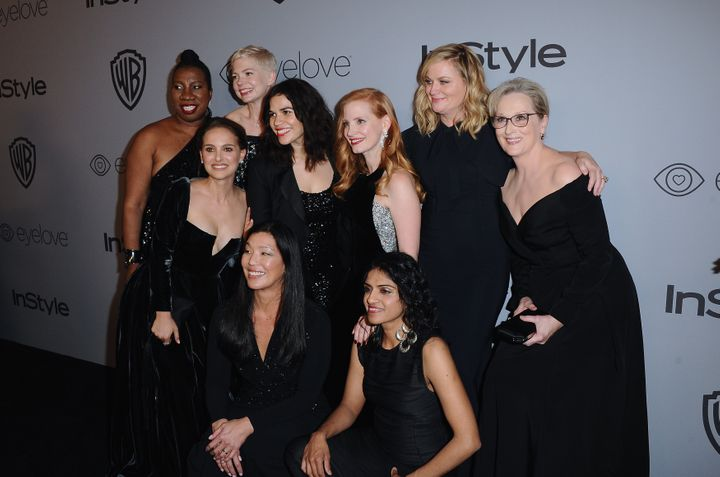 Attendees of 2018 Golden Globes on Jan. 8 wore black to protest sexual harassment in Hollywood. The author of a study about g