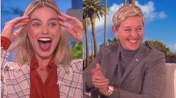 Margot Robbie Hilariously Honeymooned With Ellen, Barack
