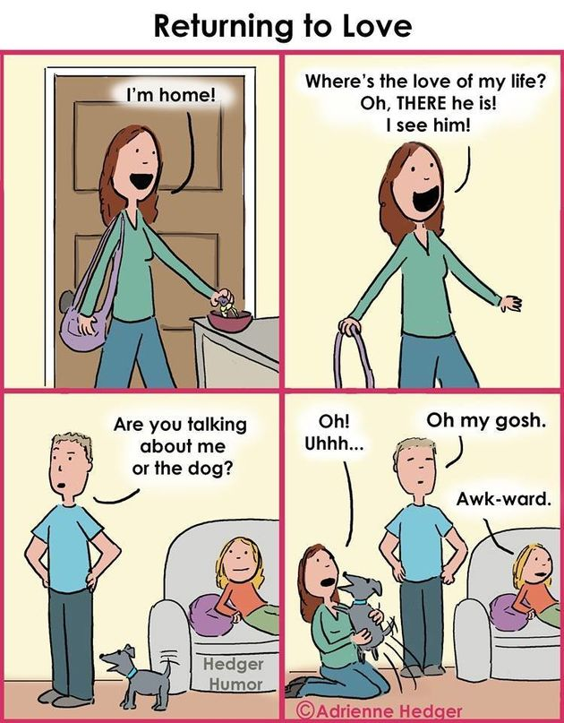 Wife's Comics About Married Life Are Just So Darn