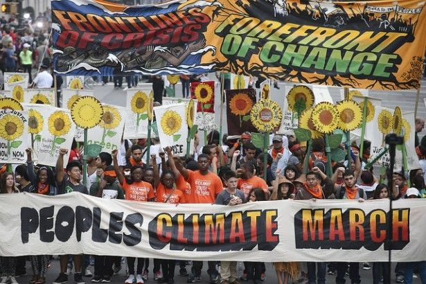 The People's Climate March in New York