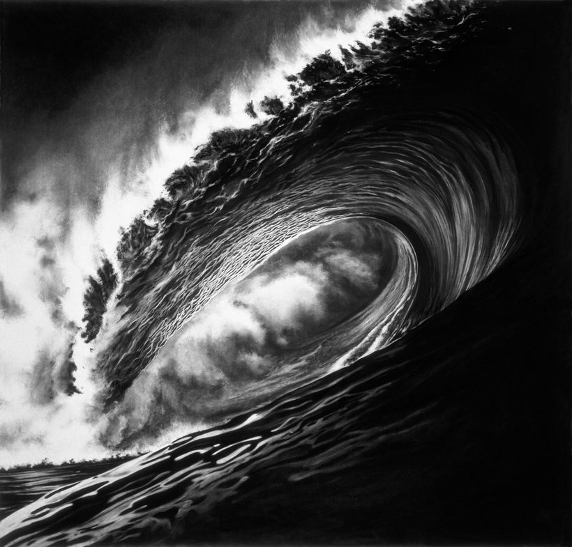 Robert Longo, <em>Hell's Gate</em>, 2005, Archival pigment print on Somerset velvet paper. 106 x 110 cm. Edition of 30; n