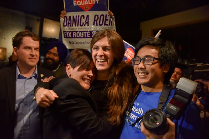 Danica Roem was one of 15 Democrats to win seats previously held by Republicans in the Virginia House of Delegates this Novem