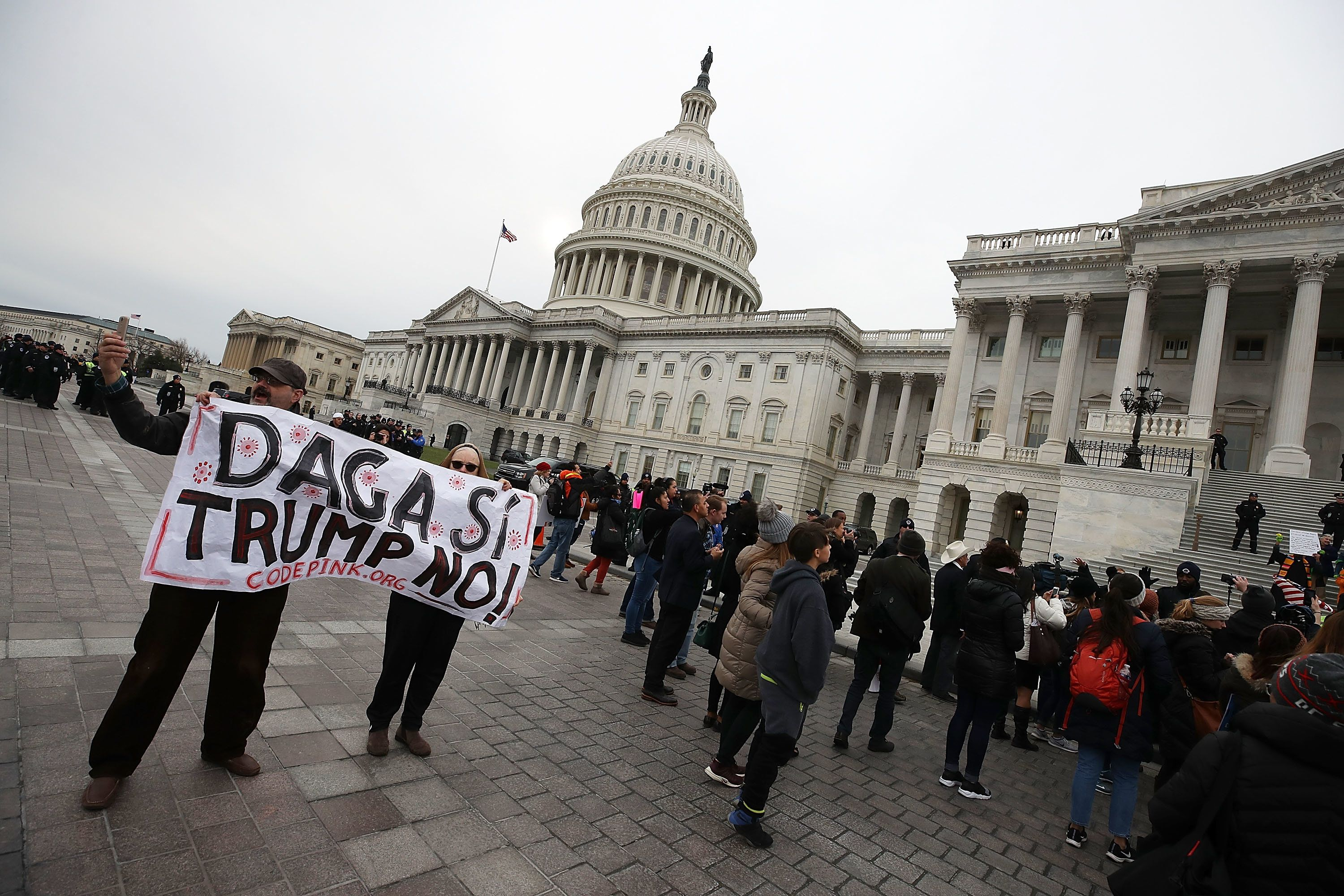 Dreamers Protection Has To Come With Border Wall