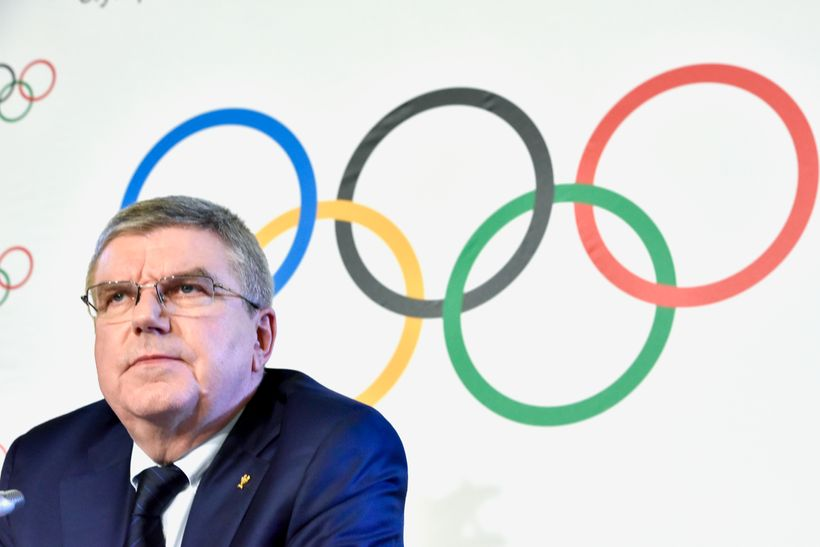 International Olympic Committee President, Thomas Bach.