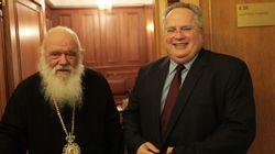 «Ανακαλέστε» λέει o Κουμουτσάκος για τα σχόλια περί συμπόρευσης Εκκλησίας-Χρυσής Αυγής με αφορμή την παρέμβαση για το